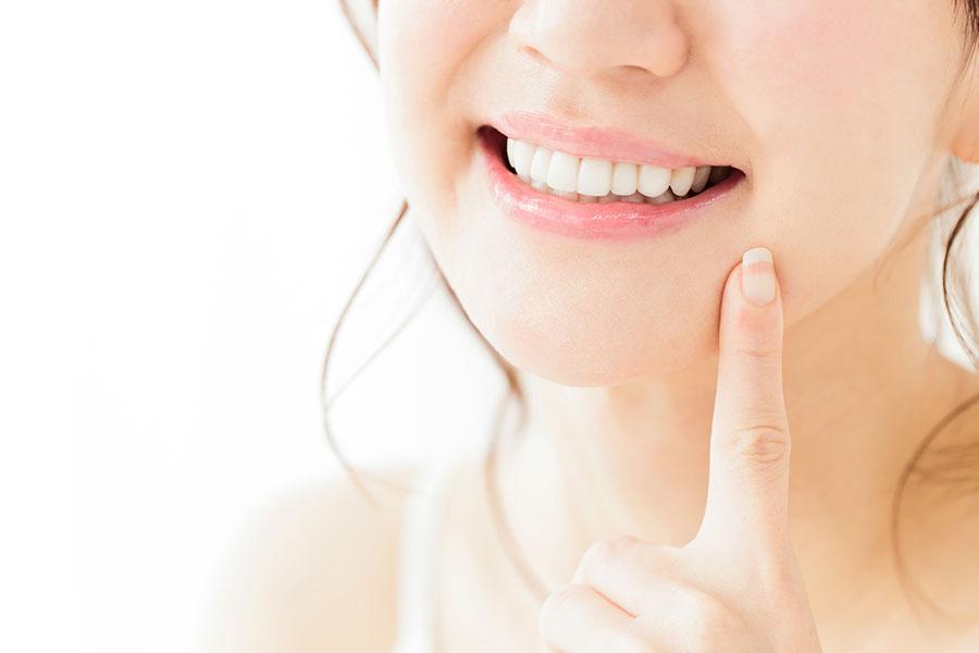 自然な歯の色へ