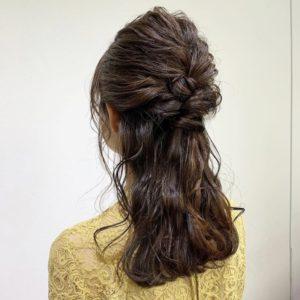 お呼ばれ hair arrange *